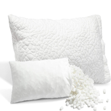 Premium Hypoallergenic Adjustable Loft Pillows Shredded Memory Foam Pillow