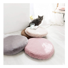 New Design Sofa Round Colorful Soft Plush Memory Foam Seat Cushion