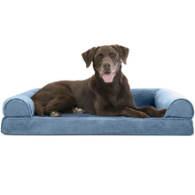 Best Seller Luxury Bolster Dog Bed Luxury Custom Fluffy Memory Foam Dog Bed