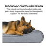 CPS Washable Orthopedic Dog Beds Luxury Pet Bed For Dog