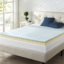 New King Queen Size Gel Hot Sell Factory Wholesale Gel Memory Foam Mattress Topper