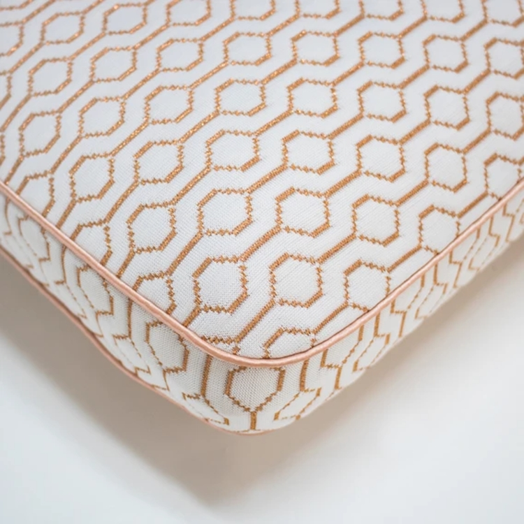 Classic Memory Foam Bed Pillow With Copper Infused Cover Pillow