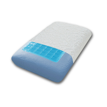 China Polyester Orthopedic Lumbar Support Memory Foam Pillow