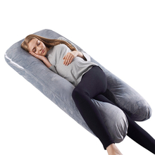 Healthy Polyester Memory Foam Pregnancy Nursing Body Pillow