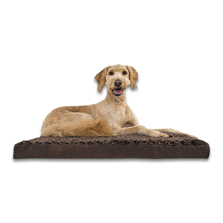 CPS China Wholesale Washable Waterproof Memory Foam Dog Bed Orthopedic