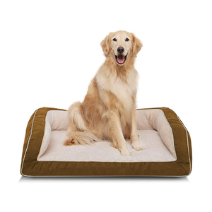 Stylish Warm Foldable Luxury Modern Eco-friendly Oxford Pet Sofa Dog Memory Foam Bed